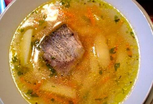 суп из судака с пшеном рецепты