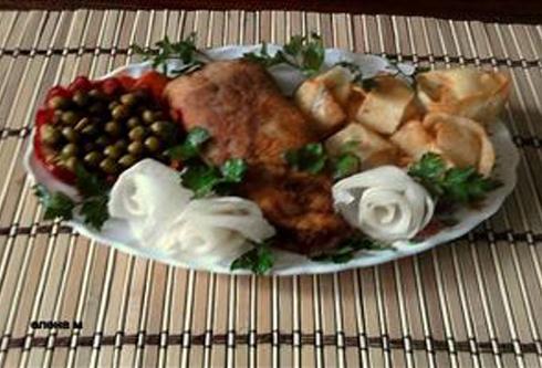 Украшения банкетных блюд видео