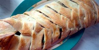 Слоеное тесто с консервированной рыбой слоеный